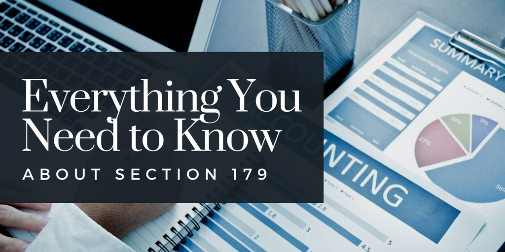 Section 179 Deductions for Real Estate Expenses – the Options