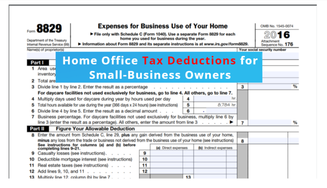 Your Home Office & Tax Deductions for Small Business
