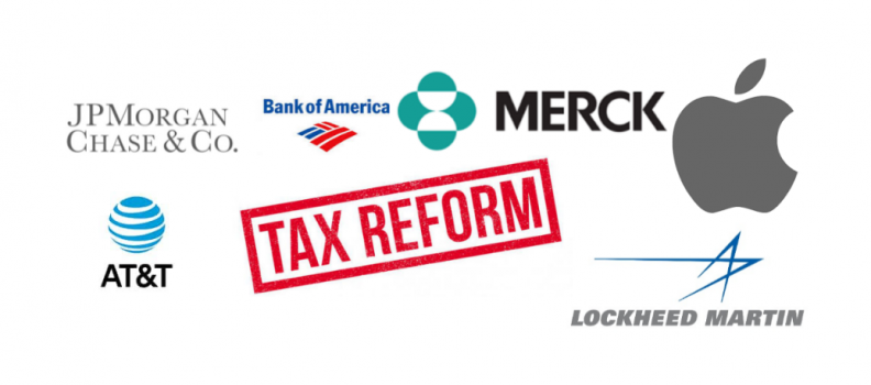 The Big Business Reaction to the Tax Cuts & Jobs Act Reform
