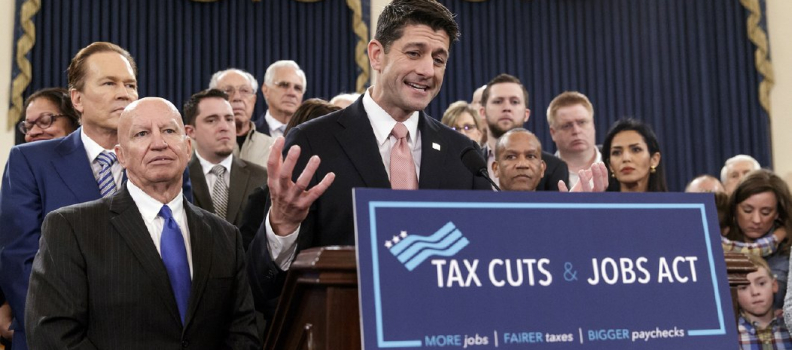 The House Just Passed it's Big Tax Reform Bill -Here is What's In It