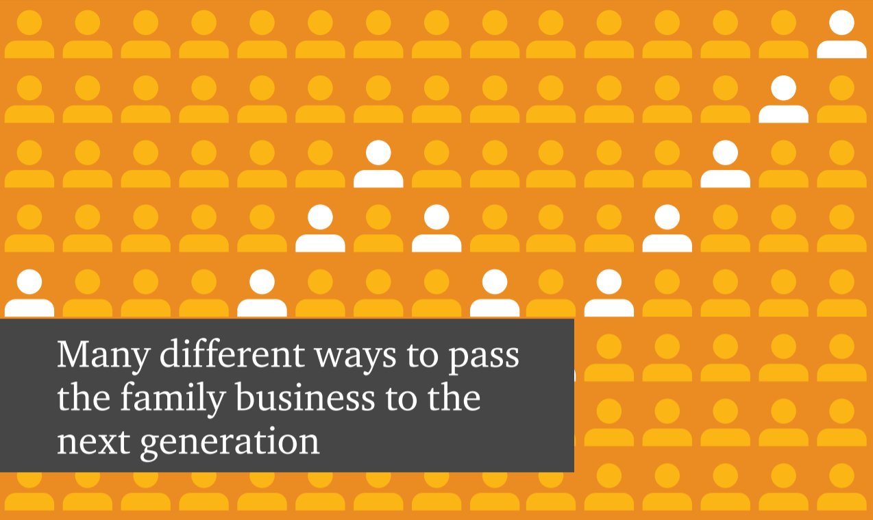 Family business ownership succession and tax considerations for choosing an entity business structure