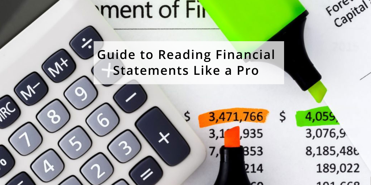 Business owners guide to reading financial statements like a pro