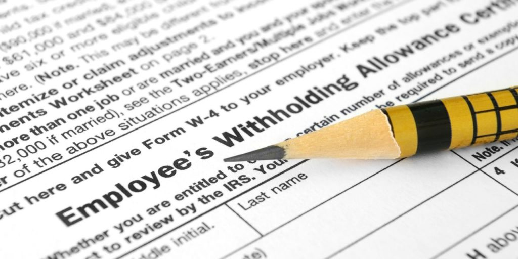 Withholdings and Estimated Taxes-